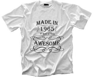 Customized birth year shirt
