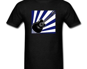 Men's T-Shirt Acoustic Guitar on Me