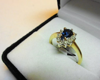 Sapphire Ring with Appraisal.