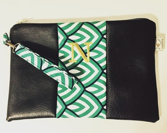 Made in Hawaii Personalized Clutch with Detachable wrist strap - Kipuka Design