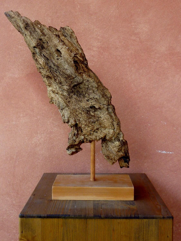 Scultura naturale in legno spiaggiato drifwood art for Vendita complementi d arredo