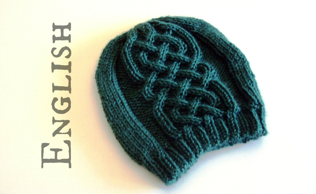 Celtic beanie knittig pattern celtic cables hat knitting zoom bankloansurffo Image collections