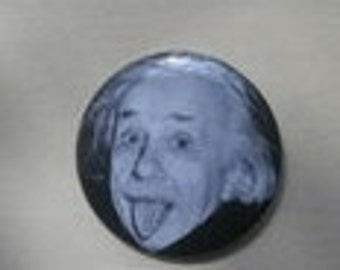 Albert Einstein Pin