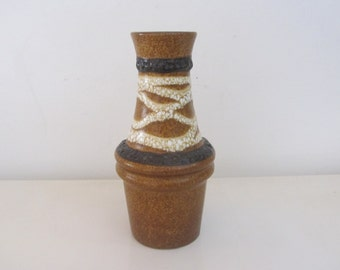 "SCHEURICH  Fat Lava Vase ""209-18"" West Germany - 1970s"