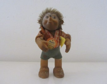 "STEIFF ""Macky"" hedgehog doll - Made in Germany - 1950s"