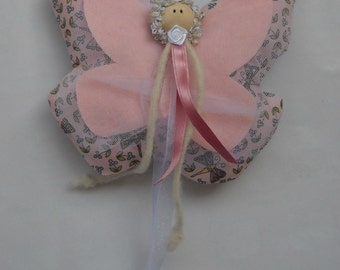 Butterfly snowflake decoration child birth