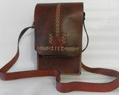 Leather Bag, Messenger Bag, Shoulder bag, Crossbody, Men's leather bag, men purse- For Him, for every day use