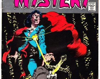 The House of Mystery 211. Vampire, Dracula, Horror comic, Wrightson art. Creepy, Scary, Halloween book. 1973 DC Comics in FN/VF (7.0)