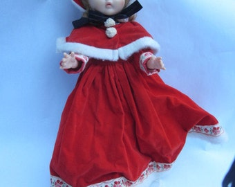 Vogue Christmas doll and outfit