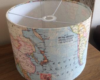 Handmade Drum Lampshade