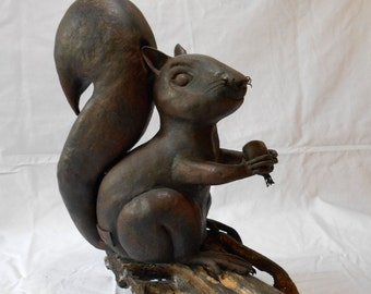 Squirrel wrought iron