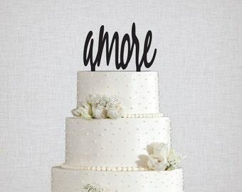 Amore Wedding Cake Topper