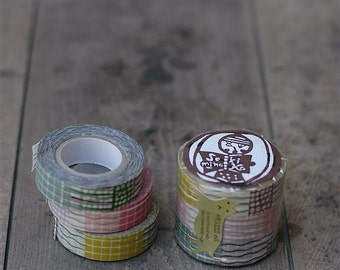 Classiky Masking Tape - Textile, 15mm x 15m, Set of 3 Rolls (45322-08)