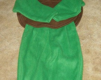 Green Sea Turtle Halloween Costume Kids Toddler Custom Made