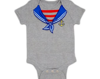 Sailor Costume baby grow