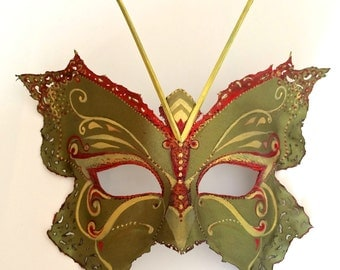 One-of-a-Kind Butterfly Mask