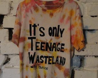 Tie dye The Who shirt