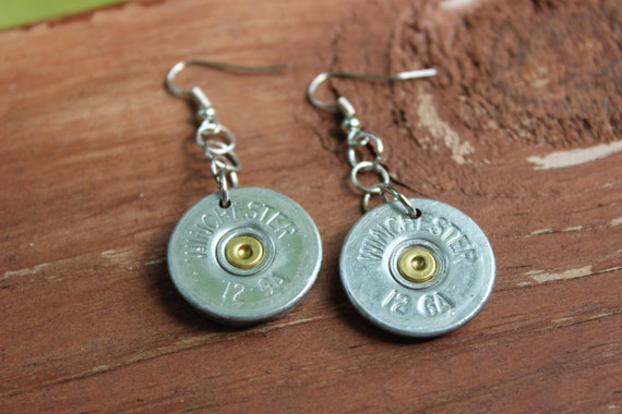 Winchester 12 Gauge Shotgun Shell Earrings By Raziyajewelry. Tournament Medallion. Euphanasia Medallion. Rosary Necklace Medallion. Gold Circle Medallion. Achievement Medal Medallion. Transparent Background Medallion. Tut Charm Medallion. Hand Painted Medallion