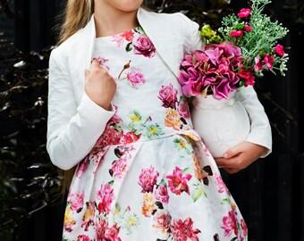 Cake Dress/ Girl's Dress/ Flower Dress/ Summer Dress