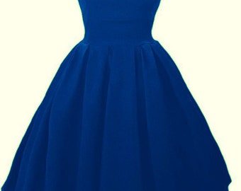 Elizabeth Stone 'Elisa' Audrey Hepburn Inspired 50s Rockabilly Pin Up Swing Bridesmaid Dress