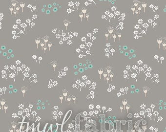 Woven Fabric - Littlest Tenderness Grey - Fat Quarter Yard +