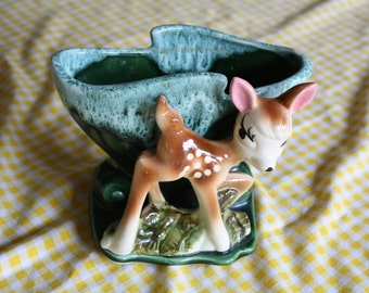 Super Cute Vintage Deer Planter