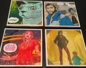 Saga Comic Book Coasters A (Set of 4)