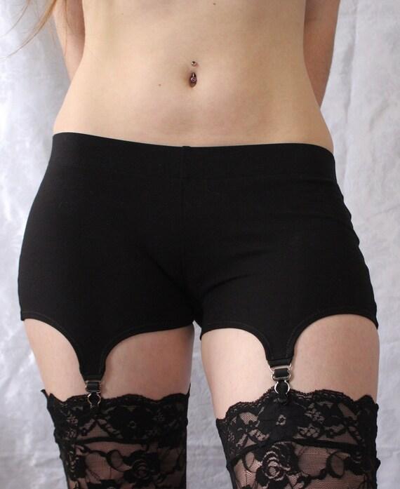 Garter Shorts Comfy Cotton Garter Belt Alternative