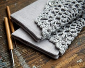 Linen Crochet Hook Case - Holder - Organizer