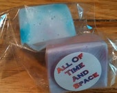 All Of TIme And Space - Coconut Oil Enriched Glycerin Soap 2oz Bar Doctor Who Inspired