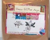Gracie Glitter Magic Fairy Rubber Stamp by Suzi Blu and Unity Stamp Co
