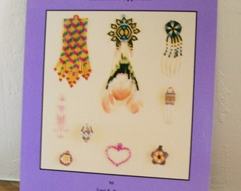 """Beadwork Book """"How To Bead Earrings"""" Lois Berry  Jewelry Earrings Beading Crafts"""