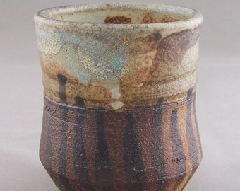 Wood Fired Stoneware Yunomi Cup