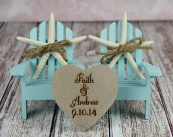Adirondack Beach Wedding Chairs-Beach Chairs-Adirondack Chairs-Wedding Cake Topper-Beach Wedding-Destination Wedding-Beach-Adirondack-Custom