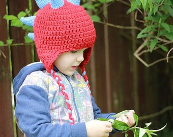 Crochet PATTERN- Williams Hat (Baby, Toddler, Child, and Adult sizes) Chunky, Bulky helmet PDF Pattern 317