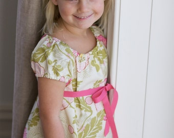 Matilda Gypsy Dress and Top PDF Pattern in sizes 6mth, 1, 2, 3, 4, 5, 6, 8