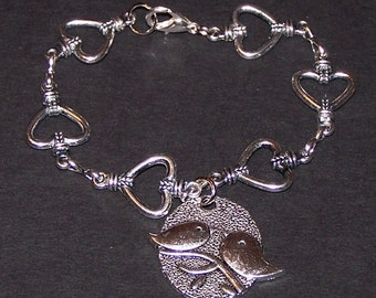 cute lovebirds bracelet