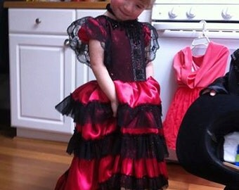 Flamenco Girl Toddler Dress for Cinco De Mayo or Dance