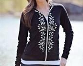 zip up hoodies. cute hoodies. graphic tees for women. ellembee. trending tops. trending now. silk screened tee shirts. womens tops tees. new