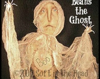 Beans the Ghost E-Pattern