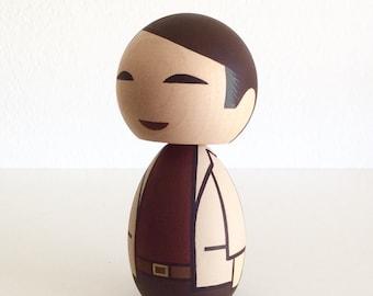 Kokeshi Doll Carl Sagan Cosmos