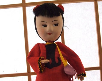 Vintage Chinese Collectible Doll