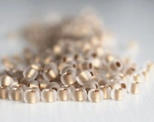 20g Frosted Crystal/Gold Lined Size 6 TOHO Seed Beads