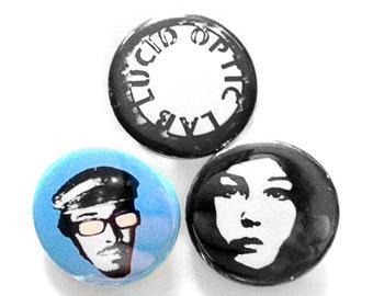 Lucid button pin set