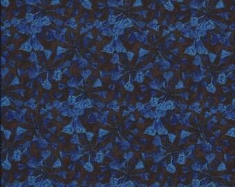 Bluebell Bloom Blue Frond Designs 1 yard