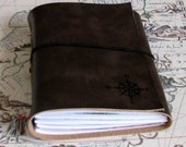 Explorer Journal mit Karten eine Reise Zeitschrift - dunkelbraun - Geschenk für Papa - Tremundo, Schulabschluss, Ruhestand