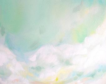 Large Fine Art Canvas Print - Fine A Sunnier Place