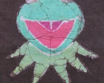 Kermit the Frog batik t-shirt, size 12 months