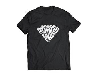 Diamond tshirt graphic tee shirt funny Tee diamond shape great unisex gift tee shirt funny tshirt diamond illustration tshirt original funny