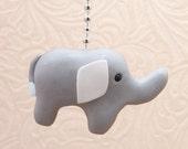 Elephant Fan Pull,  In your Choice of Color - Elephant Nursery Decor - Jungle, Safari Room Decor - Jungle Nursery - Polymer Clay